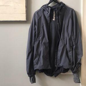 Lululemon Gray Anorak Jacket Size 8